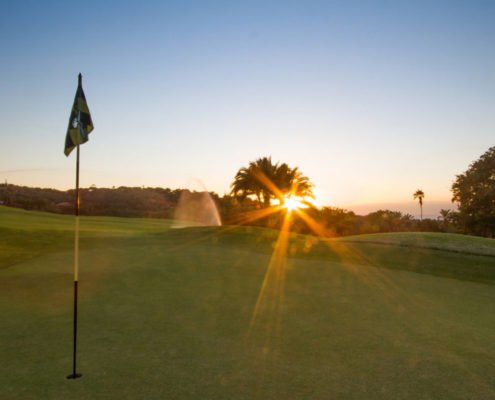 Sanlameer-Resort-Hotel-and-Spa-Golf-Gallery-Greens-Sunset